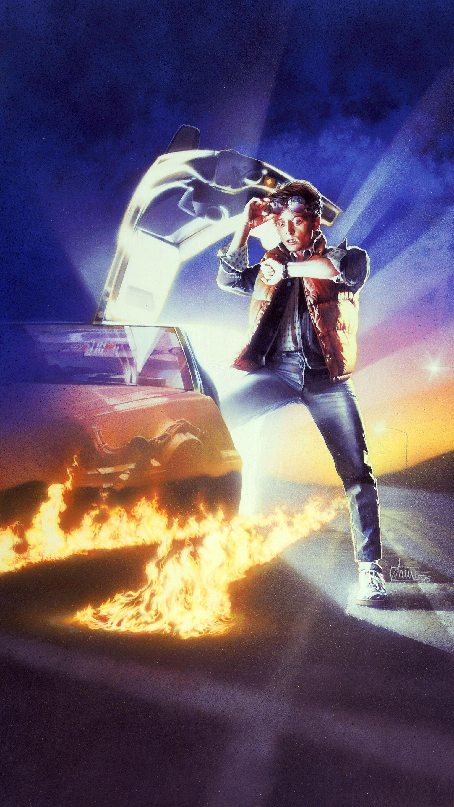 Back to the Future iPhone Wallpapers   Top Back to the Future 1536x2732