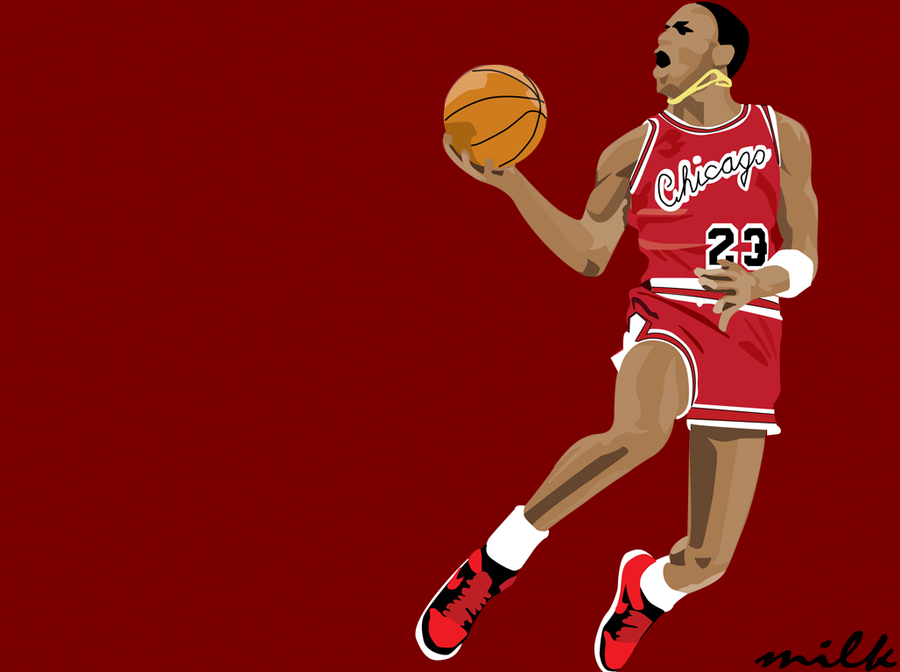 Michael Jordan Slam Dunk 1985 by khenglim89 900x672