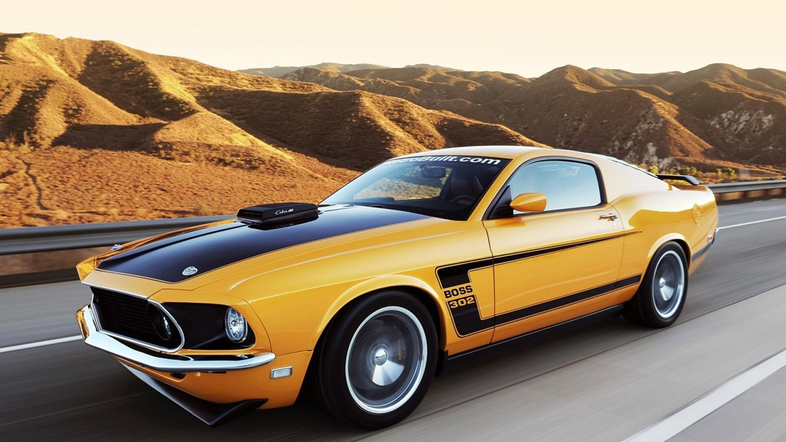 Ford muscle cars 1969 mustang car fastback wallpaper 68846 1600x900