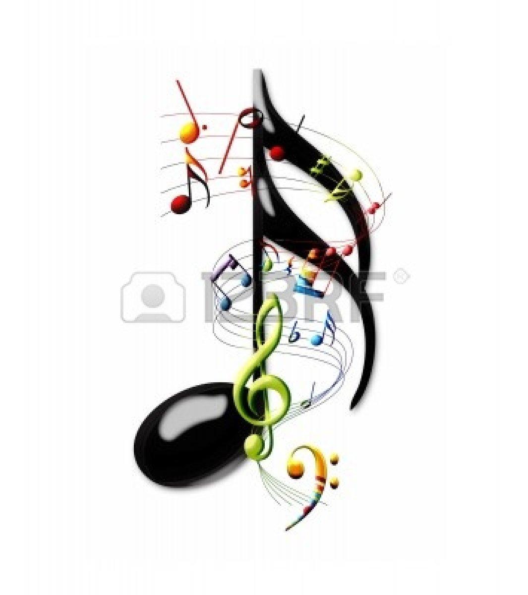 Colorful Music Notes Wallpaper - WallpaperSafari  Colorful Music ...