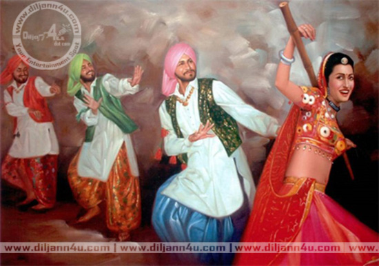 Punjabi Culture wwwdiljann4ucom 01 Latest Entertainment 550x386