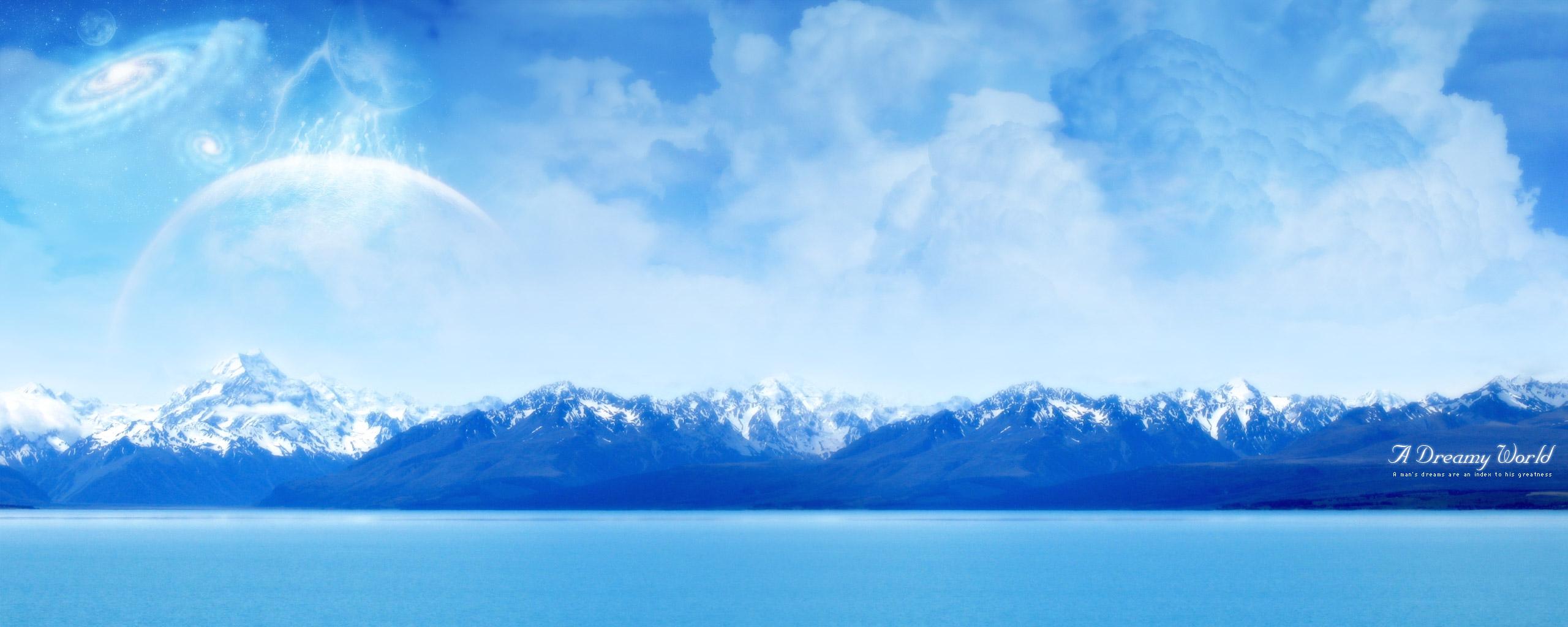 Ocean Panorama Wallpapers Arctic Ocean Panorama Myspace Backgrounds 2560x1024