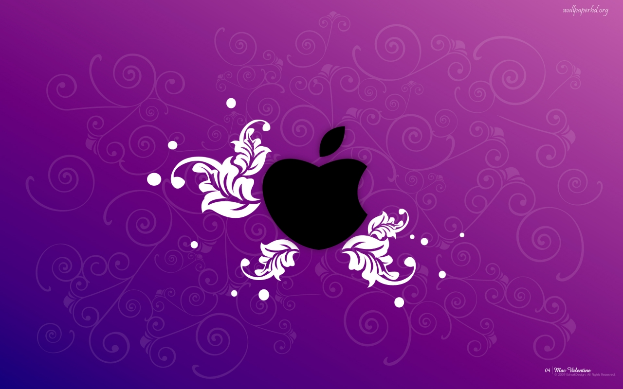 download Purple Apple Wallpaper Images amp Pictures Becuo 1280x800