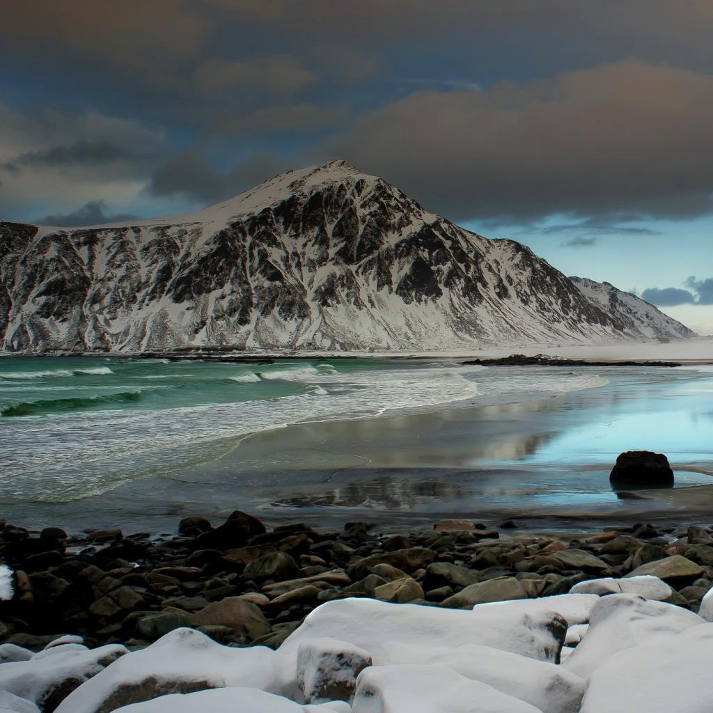 Frozen Lake iPad Wallpaper Download iPhone Wallpapers iPad 1024x1024