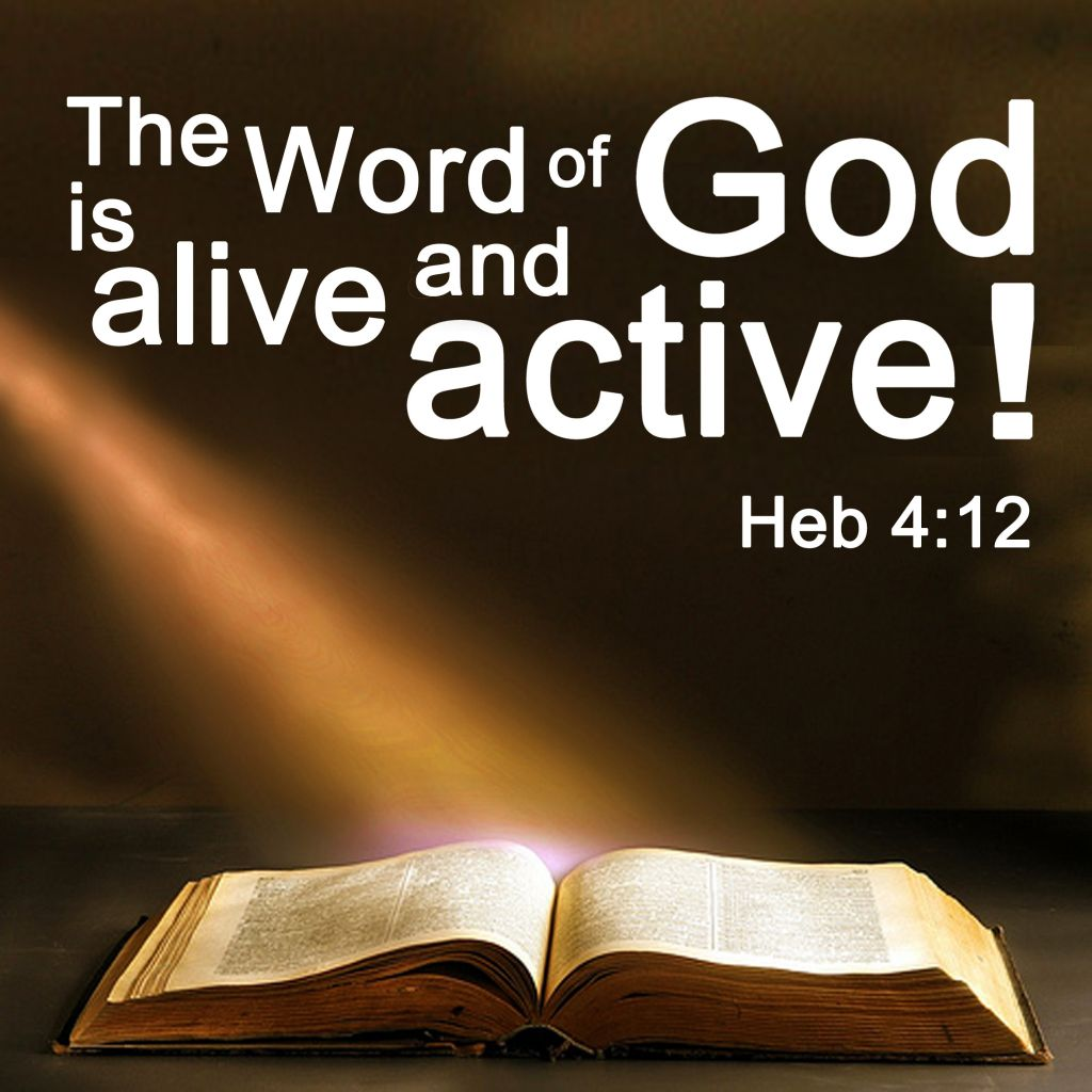The Word of God is Alive 1024x1024