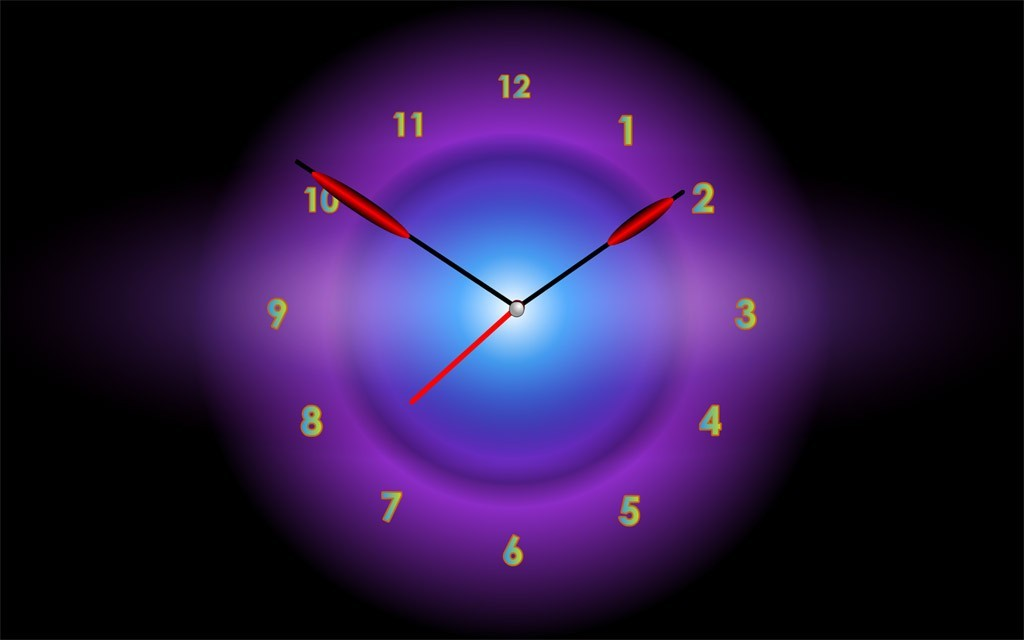 Radiant Clock Live Animated Wallpaper 11 1024x640