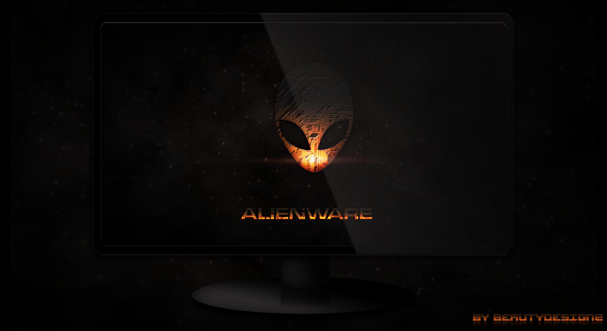 AlienWare WallPaper By BeautyDesignz by BeautyDesignz 1980x1080