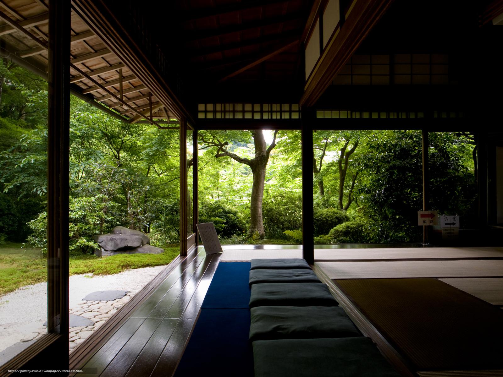 Download wallpaper forest temple Trees Zen desktop wallpaper 1600x1200