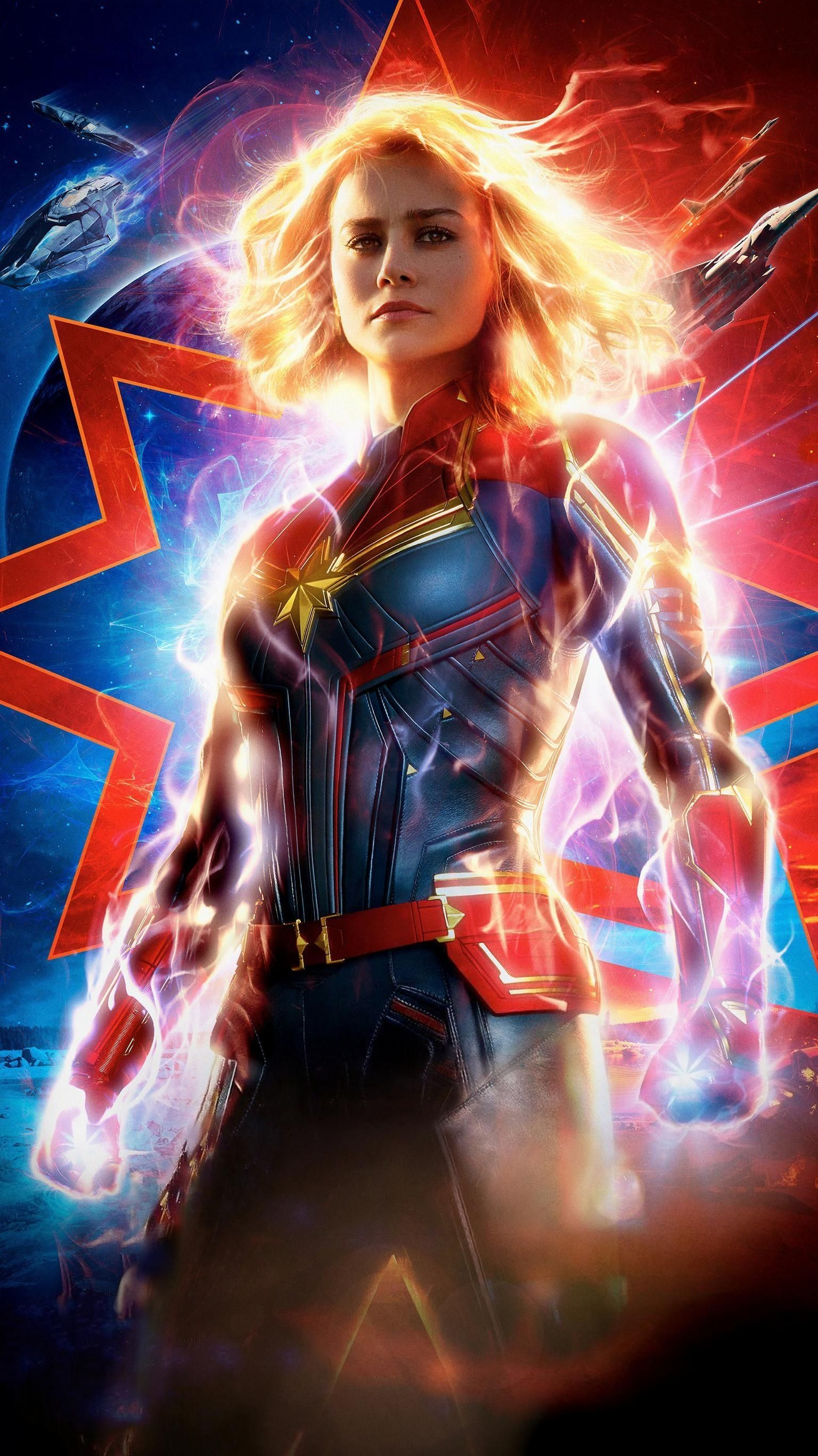 Captain Marvel Phone Wallpapers   Top Captain Marvel Phone 1536x2732