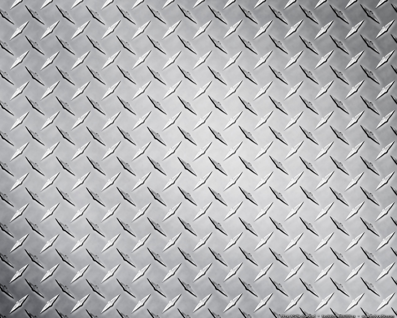 Metal diamond plate texture PSDGraphics 1280x1024