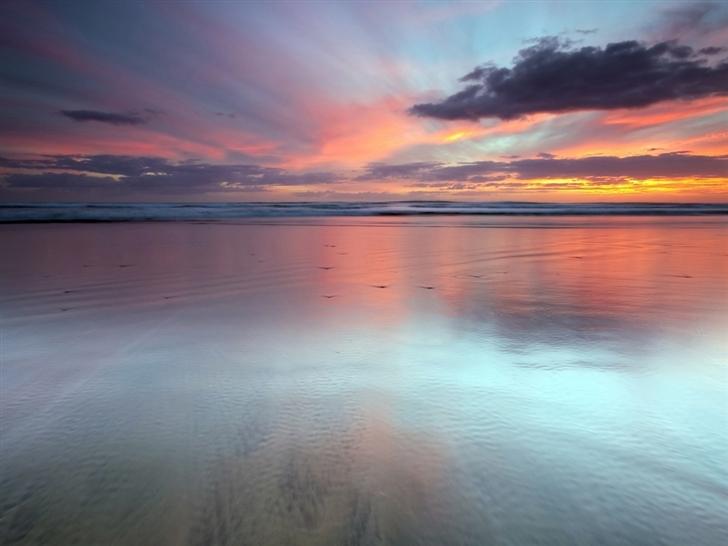 Beach Scene Mac Wallpaper Download Mac Wallpapers Download 728x546