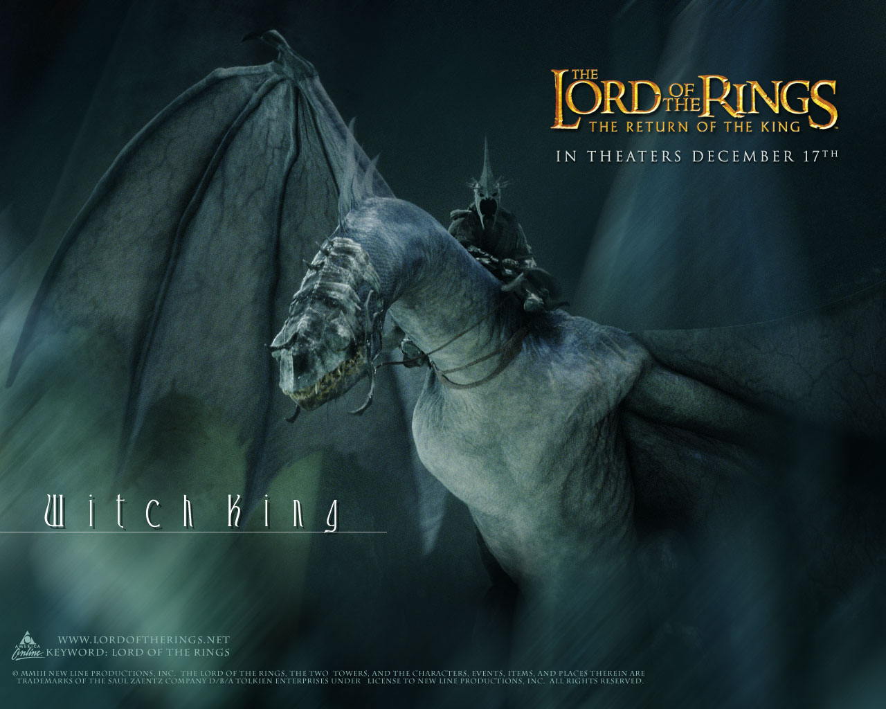 Wallpapers Lord of the rings 1280x1024