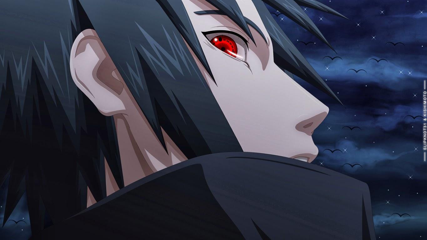 Free Download Uchiha Sasuke Sharingan Eyes Anime Wallpaper