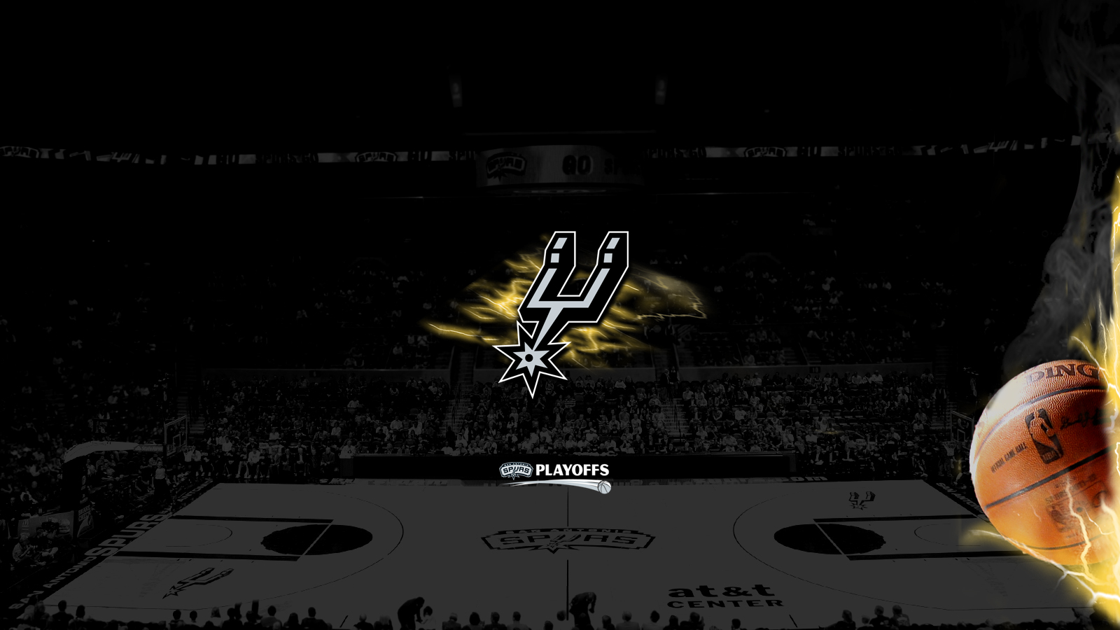 Free Download San Antonio Spurs Logo Wallpaper 3sir 1600x900 For