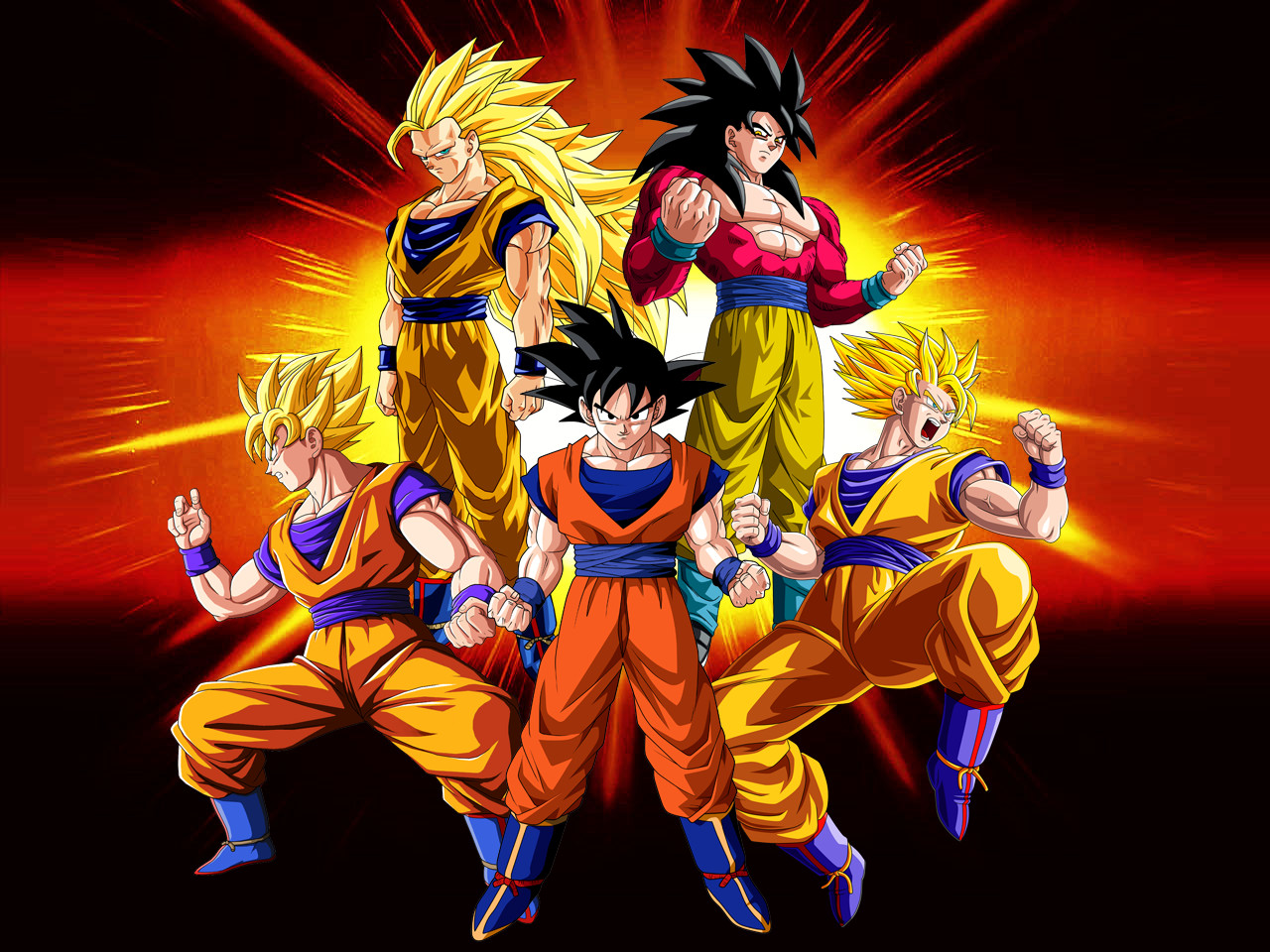 wallpaper goku evolution by dony910 fan art wallpaper movies tv 2012 1280x960
