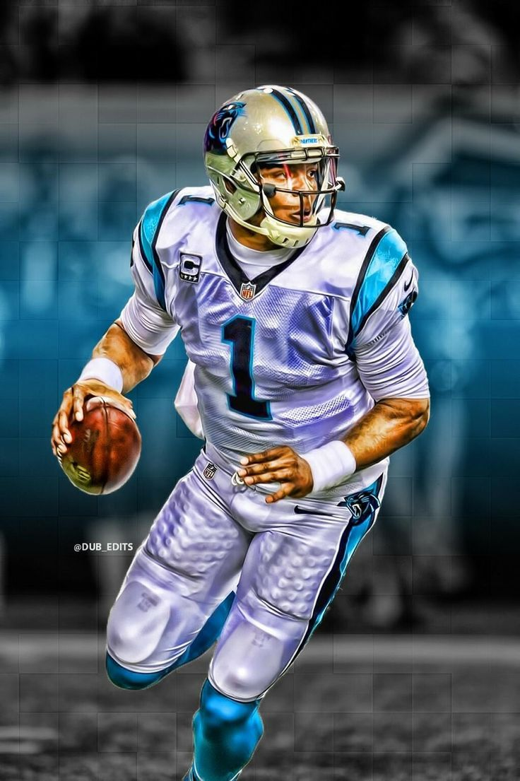 Carolina Panthers Cam Newton Superman