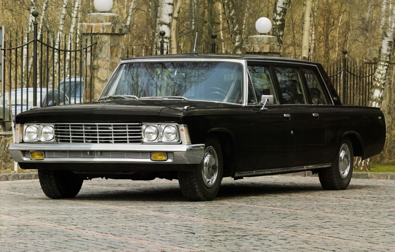 Wallpaper USSR car limousine ZIL ZIL 114 images for desktop 1332x850
