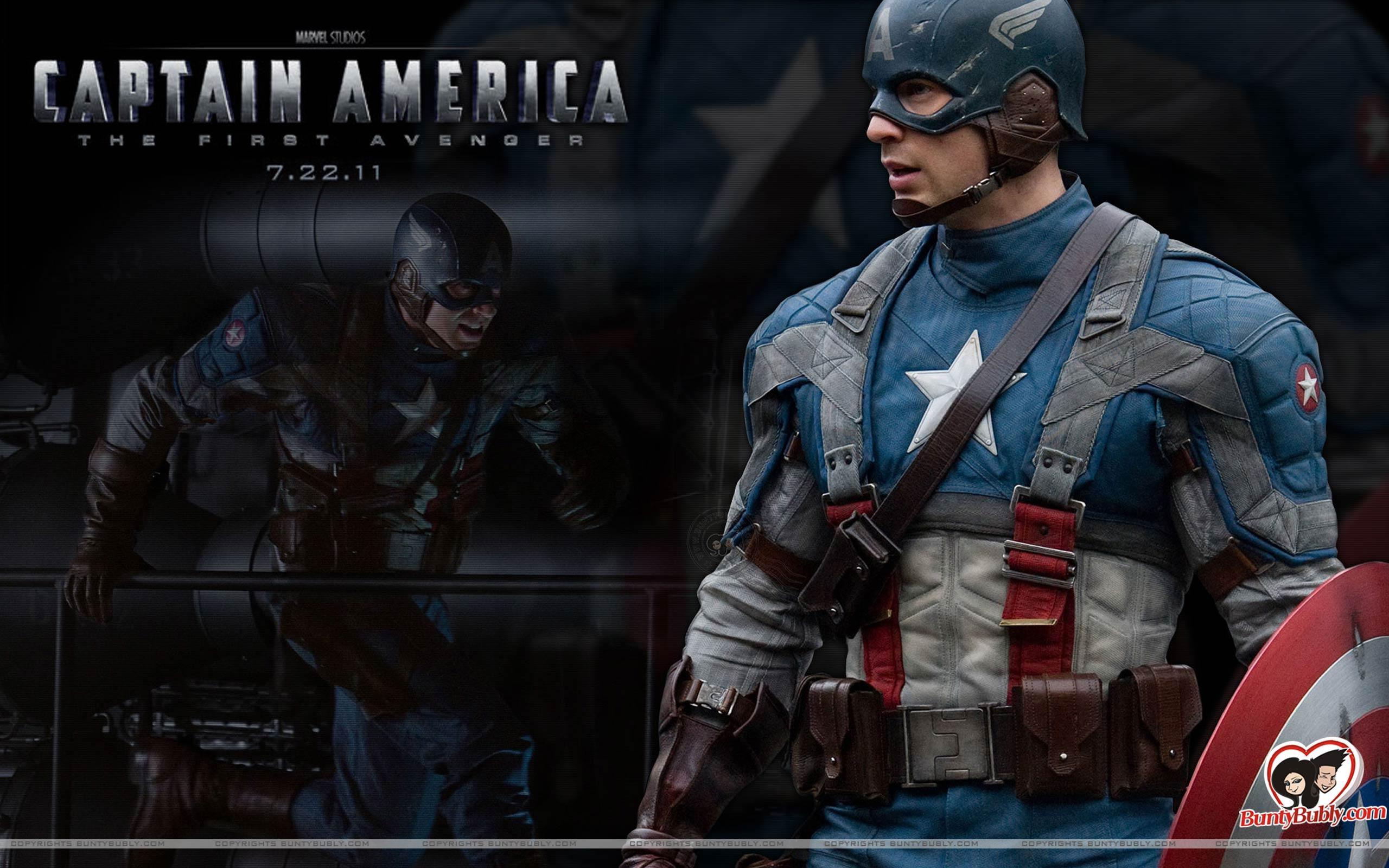 America The First Avenger Captain America The First Avenger Wallpaper 2560x1600