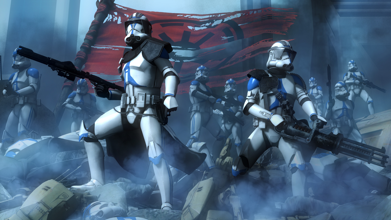 501St Clone Trooper Wallpaper 64 images 3000x1688