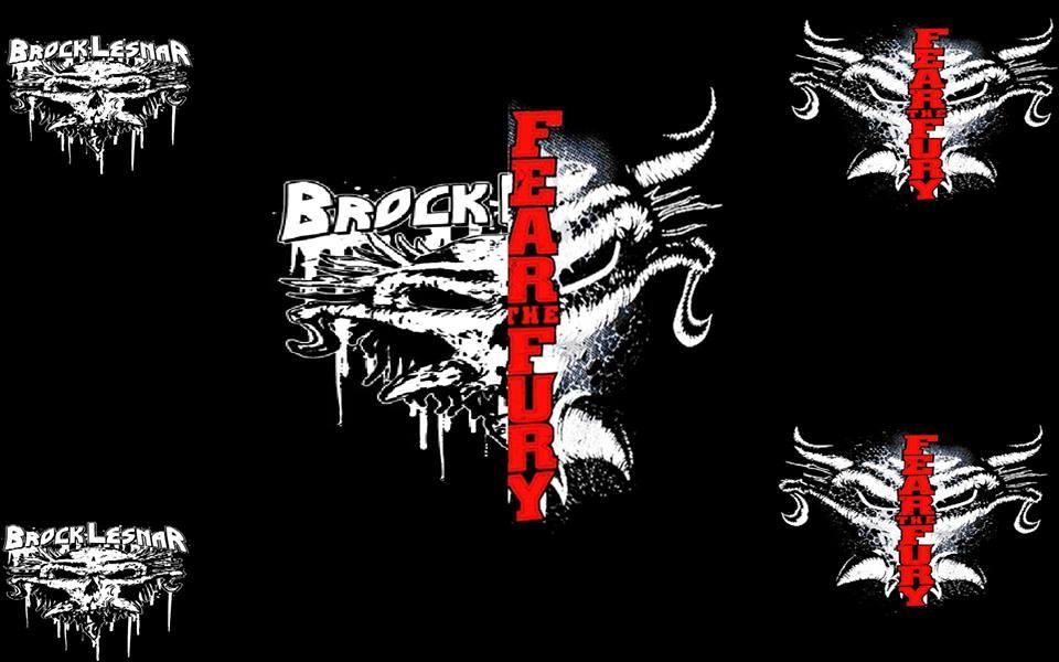 Pin Brock Lesnar Logo 960x600