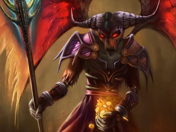 world of warcraft devil warlock demon 1920x1440 wallpaper Games World 600x450