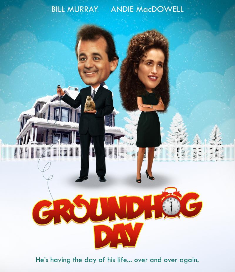 Groundhog Day   Movie Poster by Zungam80 800x926