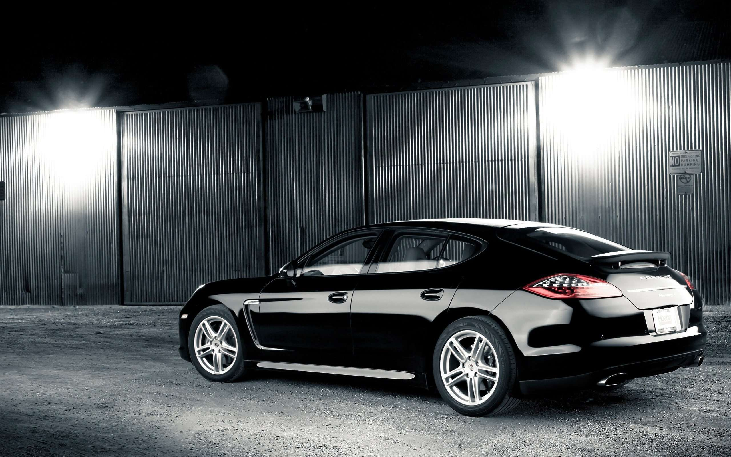 Black Porsche Panamera HD Widescreen Wallpaper HD Wallpapers Source 2560x1600