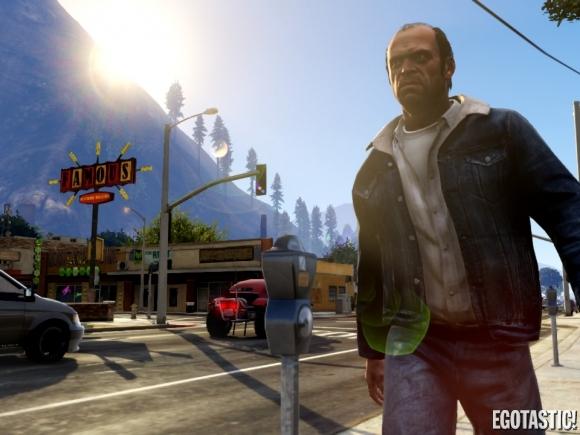 Killer Grand Theft Auto V Wallpapers HD GTA V Cool Wallpapers 580x435