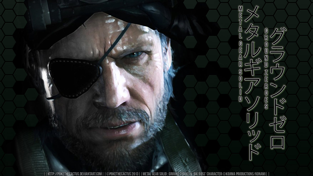 Free Download Ground Zeroes Big Boss Wallpaper By