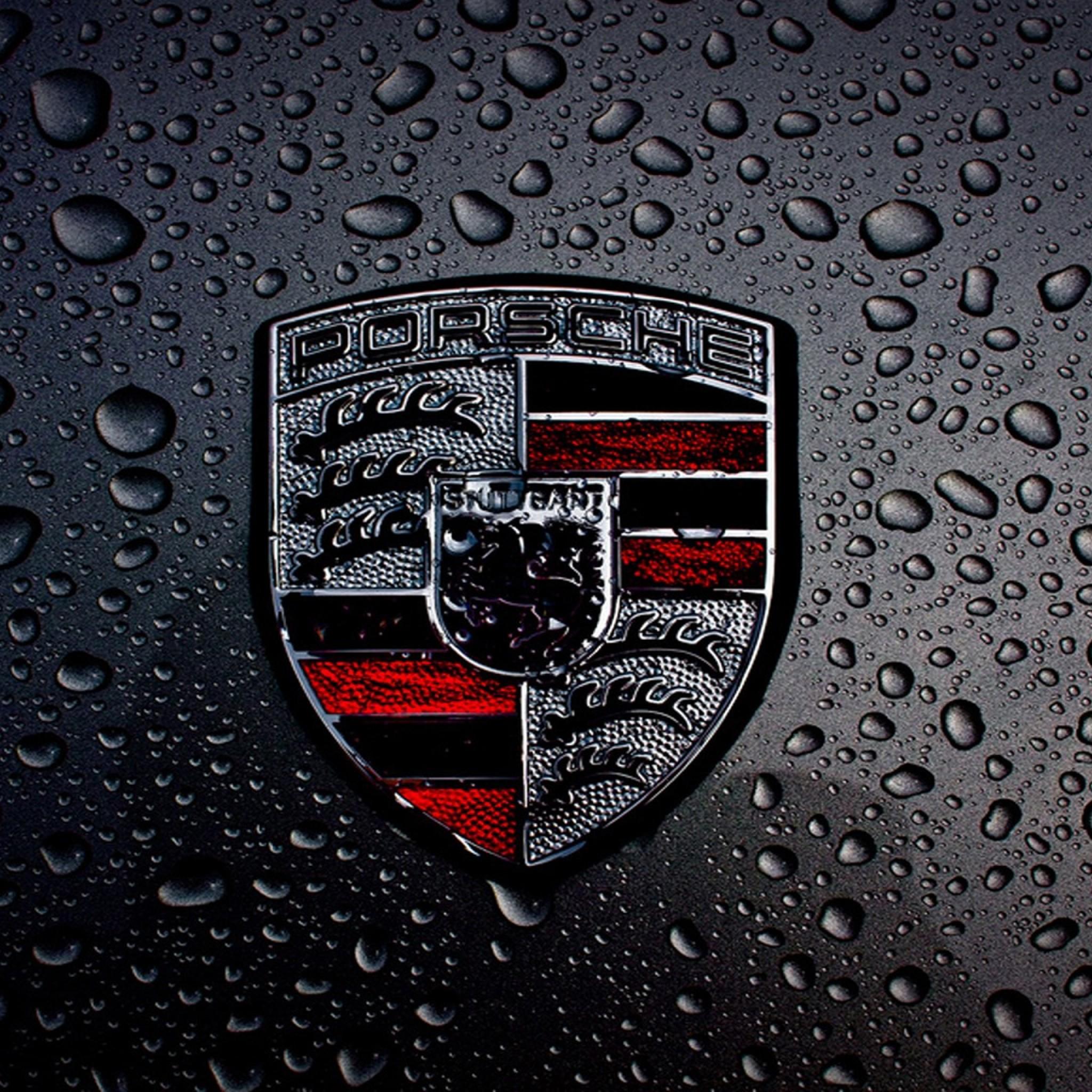15824 Porsche Logo High Quality Wallpaper   WalOpscom 2048x2048