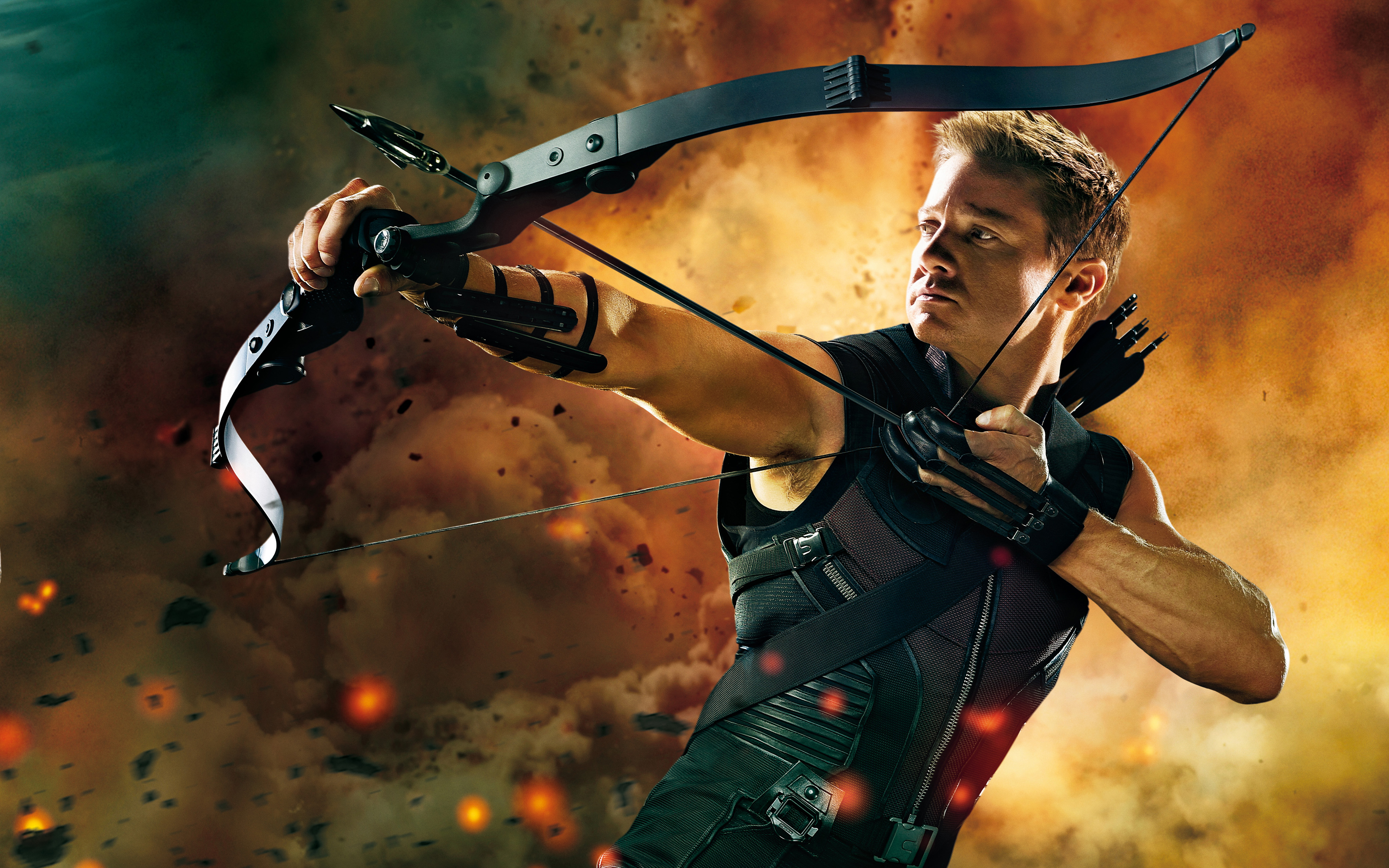 Jeremy Renner images Jeremy Renner as Hawkeye in The Avengers HD 3200x2000