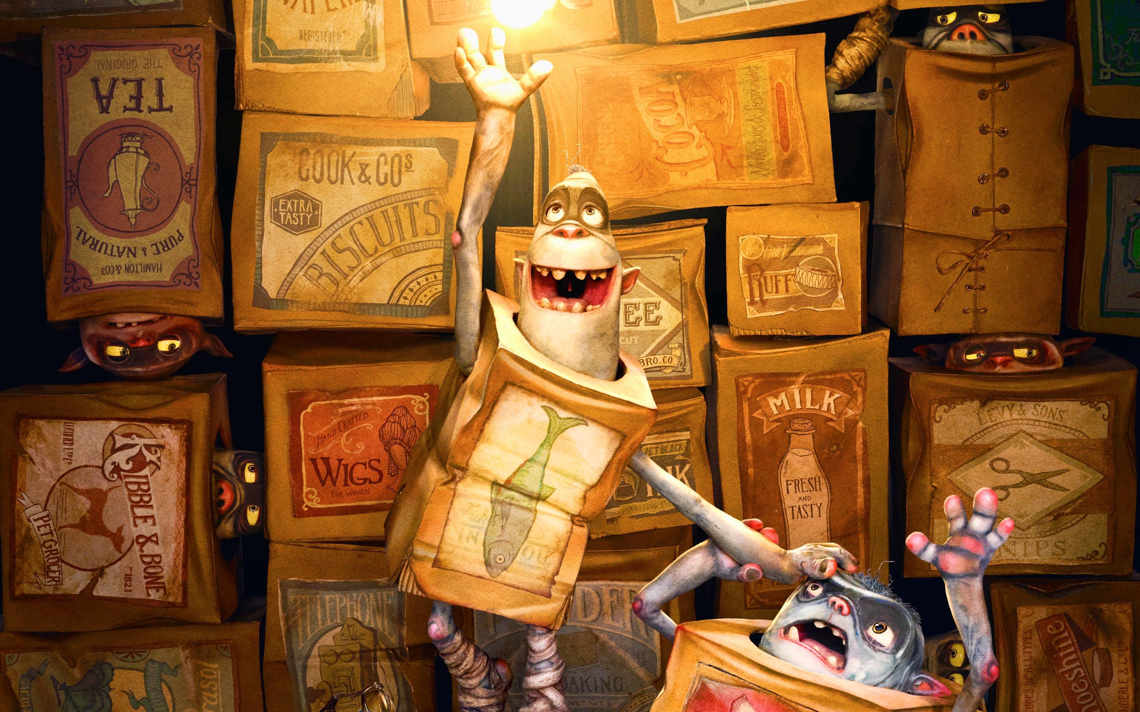 The Boxtrolls Wallpaper 8   3840 X 2400 stmednet 3840x2400