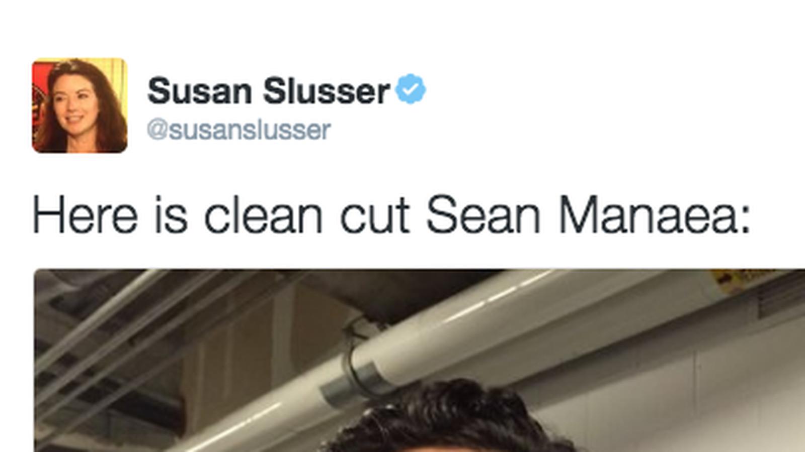 Sean Manaea gets haircut shave   Athletics Nation 1600x900