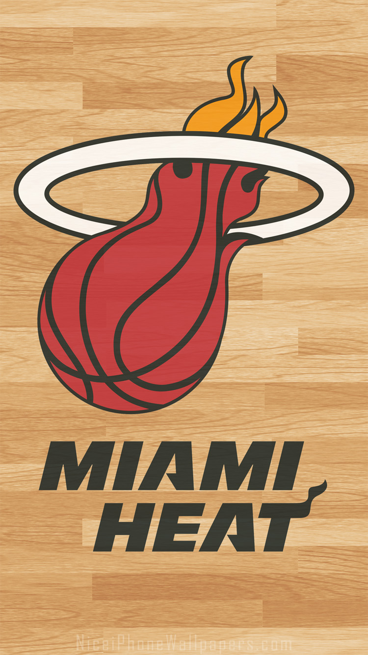 Miami heat iphone wallpaper by rhurst on deviantart - Related Miami Heat Iphone Wallpapers Themes And Backgrounds