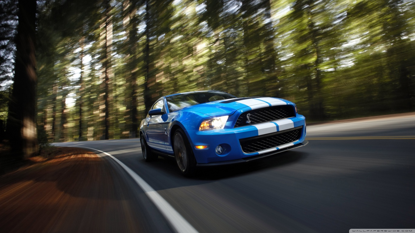 Ford Shelby GT500 wallpapers Auto Keirning Cars 1366x768