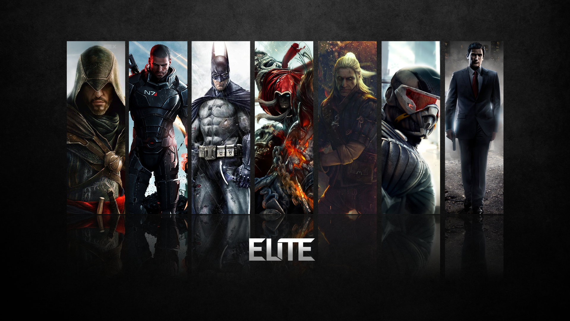 popular video game characters wallpaperVideo game characters Wallpaper 1920x1080