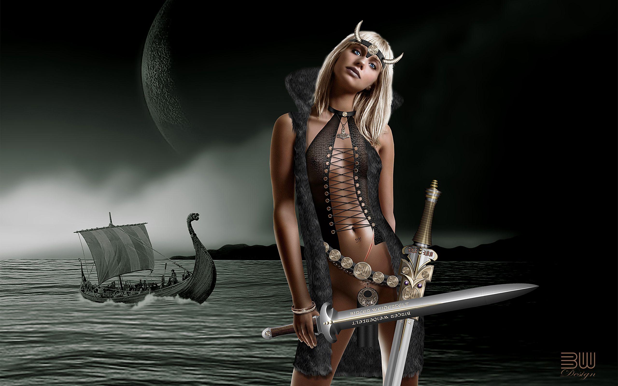 hot viking woman