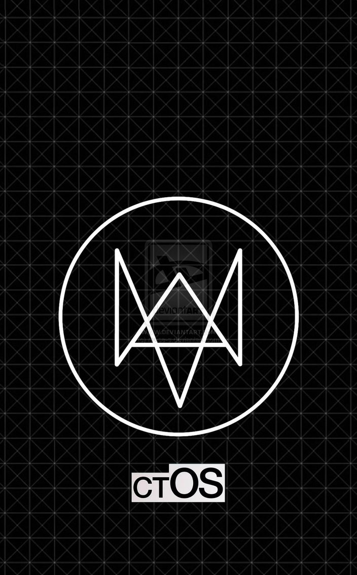 Watch Dogs Theme Phone Wallpaper