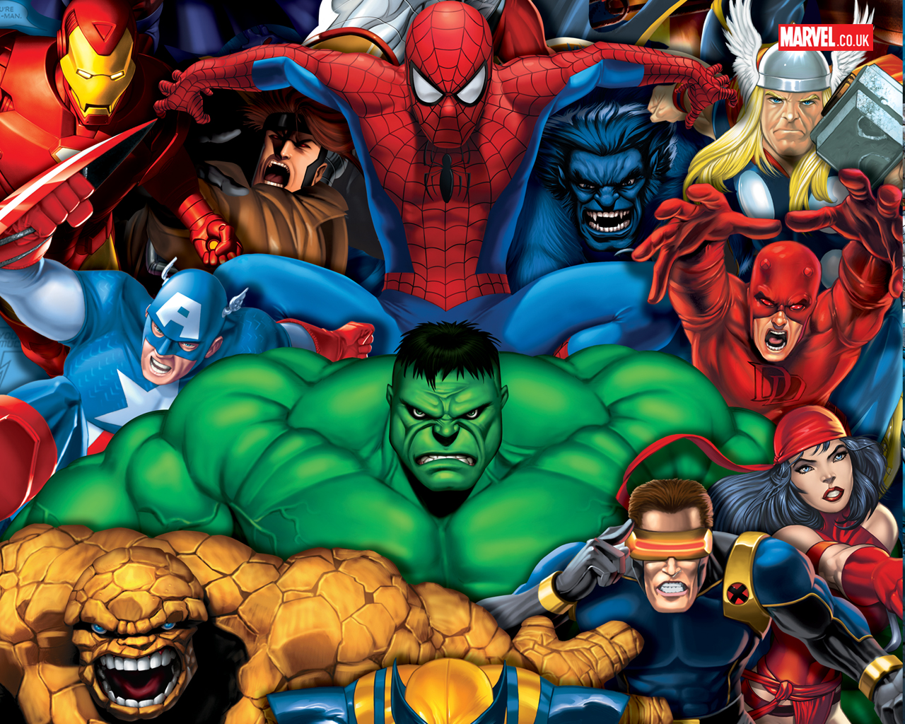 Marvel 3d Wallpapers Wallpapersafari