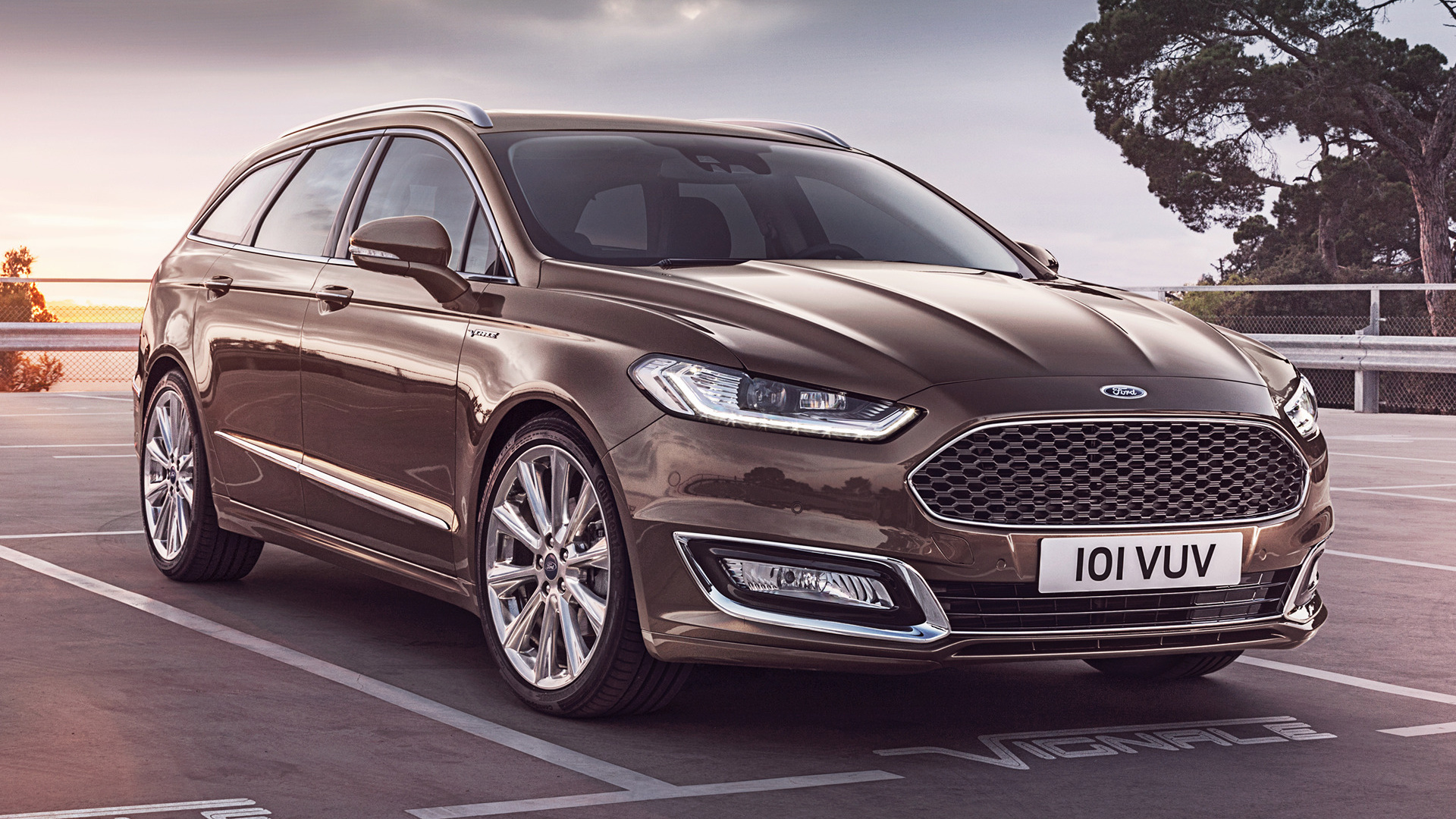2015 Ford Vignale Mondeo Turnier   Wallpapers and HD Images Car 1920x1080