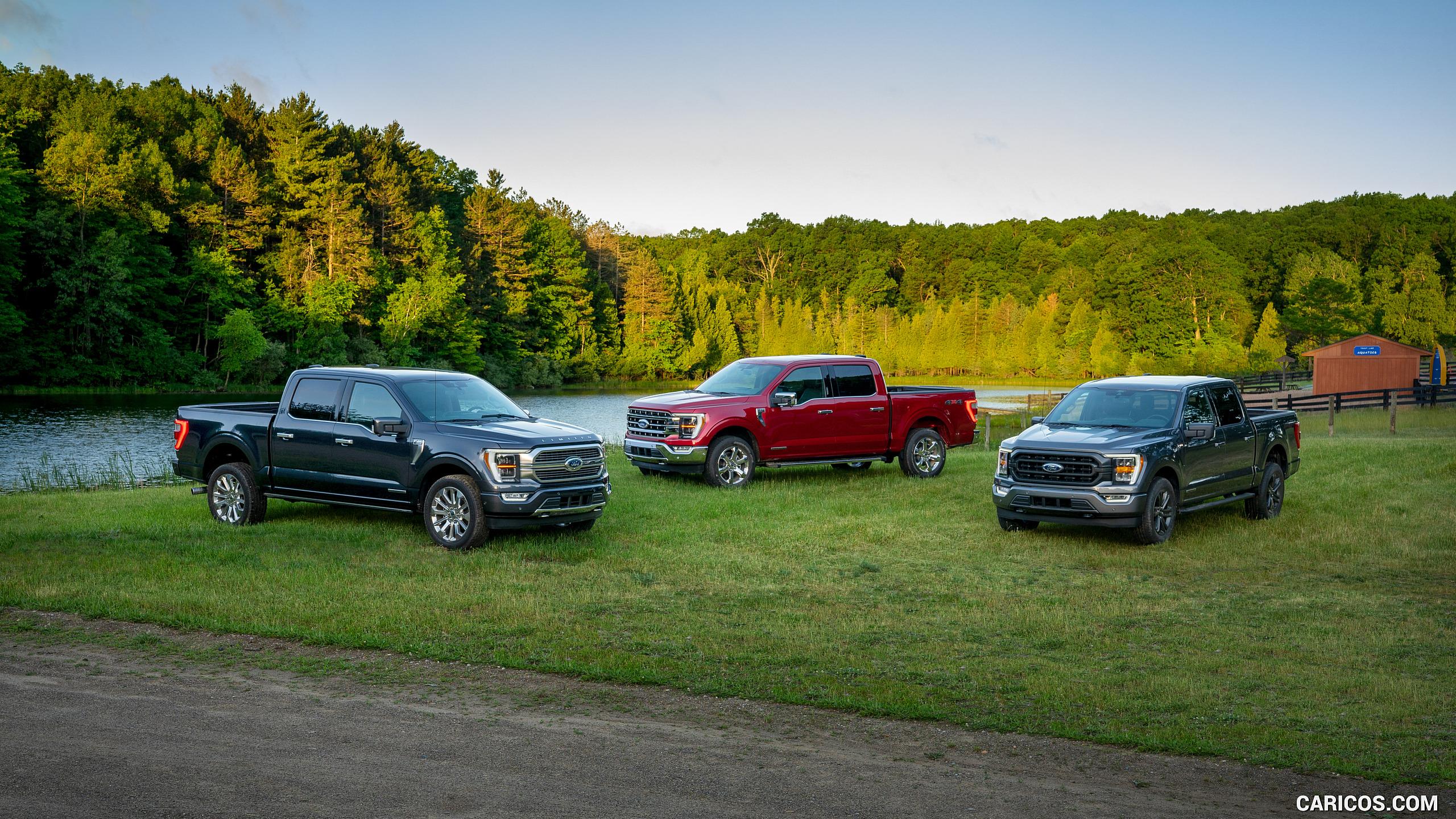 2021 Ford F 150 HD Wallpaper 27 2560x1440