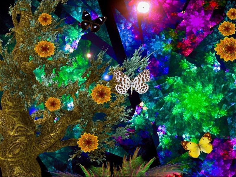 [49+] 3D Flower Wallpaper on WallpaperSafari