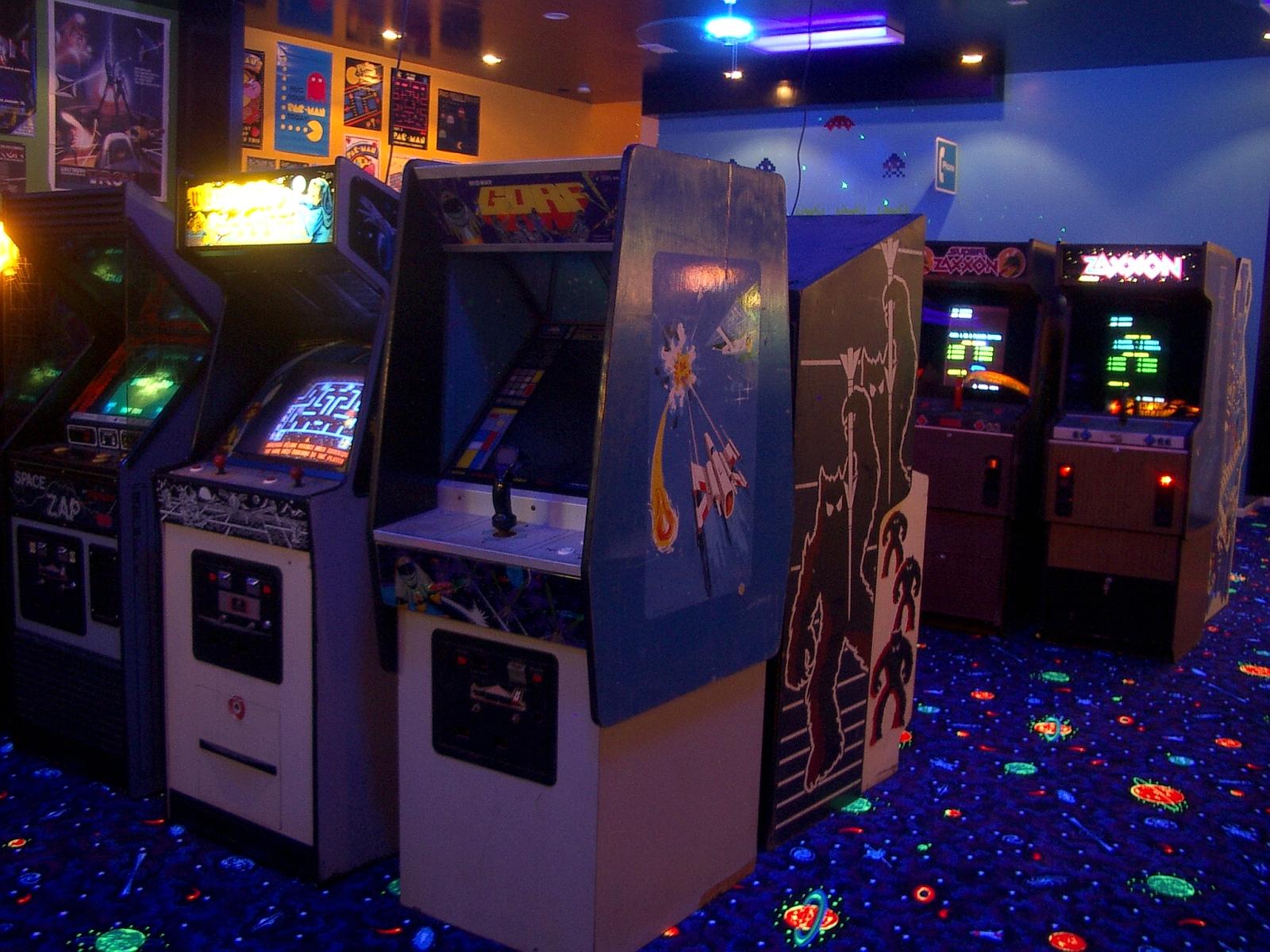Arcade Wallpaper Video game   arcade wallpapers 1600x1200