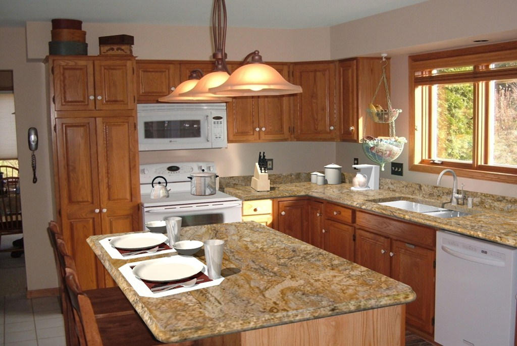Granite Wallpaper for Countertops - WallpaperSafari on white refrigerator kitchen ideas, counter top kitchen ideas, white cabinets kitchen ideas, white appliances kitchen ideas,