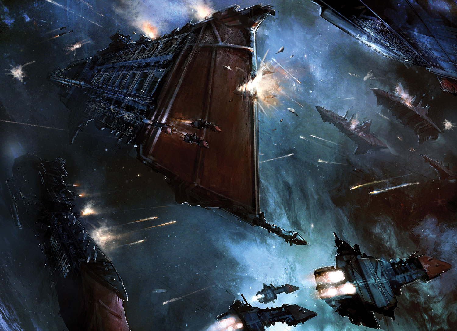 War in Space   Concept art Digital paintings Sci fi Space 1500x1086