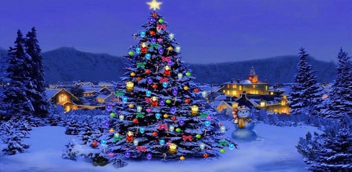 Christmas Tree Live Wallpaper 705x345