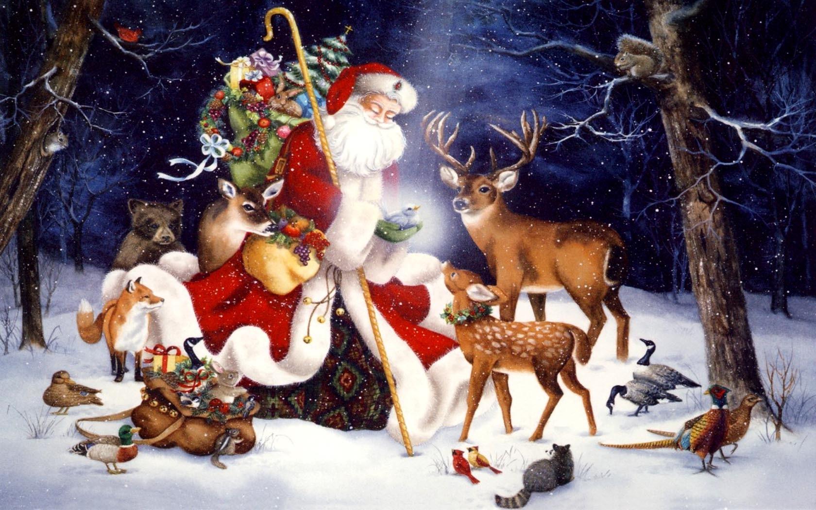 Christmas 3d Wallpaper