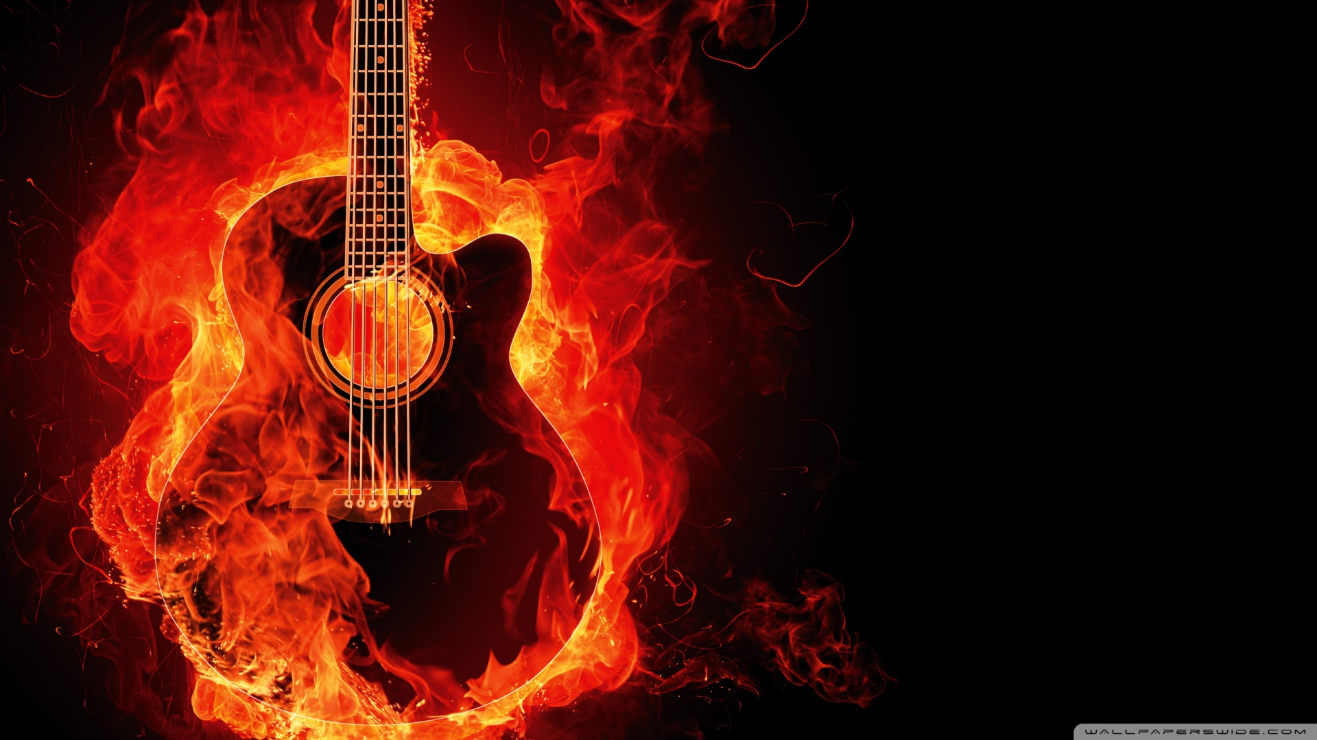 guitar wallpaper widescreen - photo #29