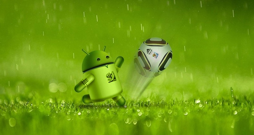 Free Download Wallpaper Android Robot Gold Desktop