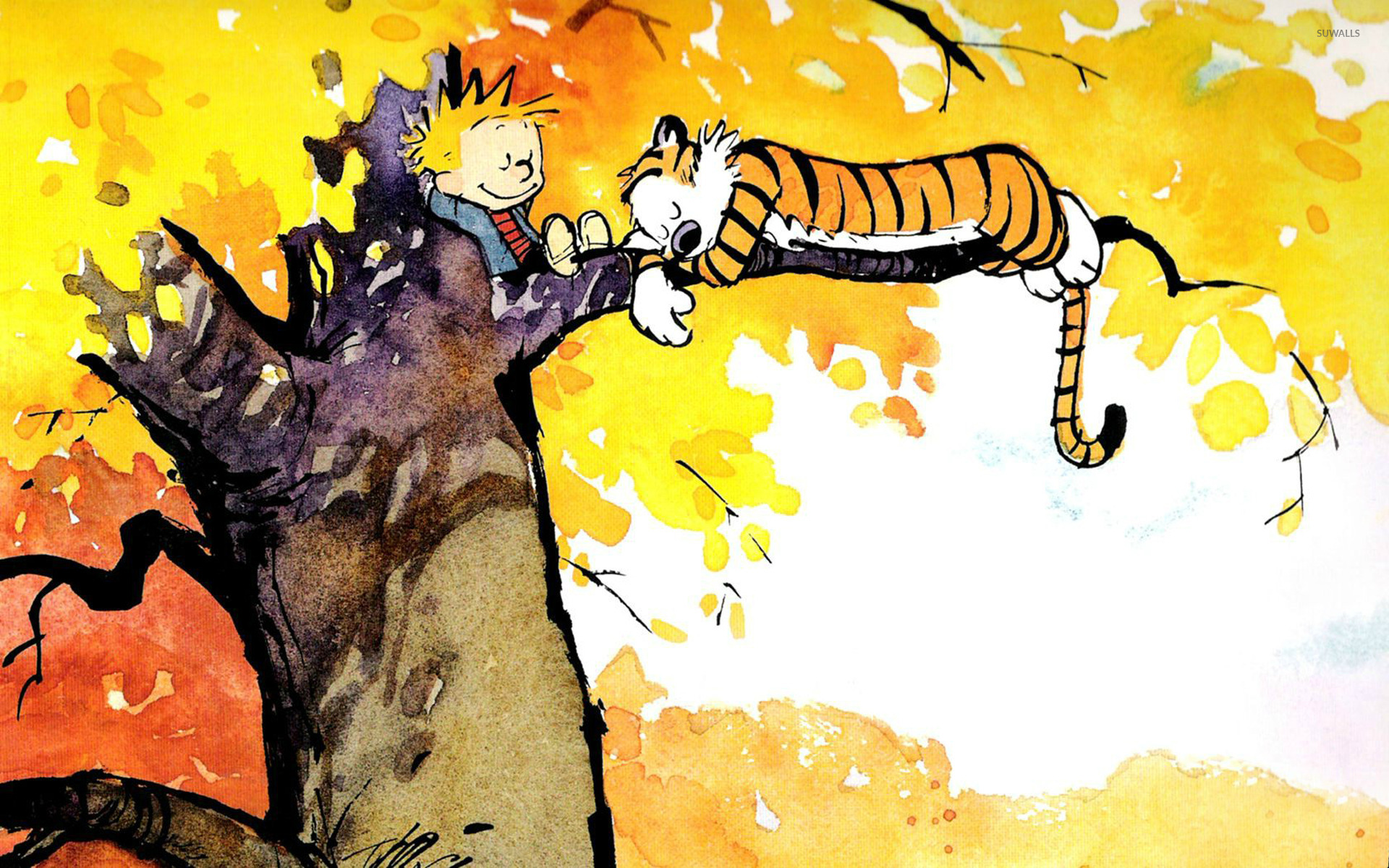 Calvin and Hobbes wallpaper   Comic wallpapers   14409 1920x1200